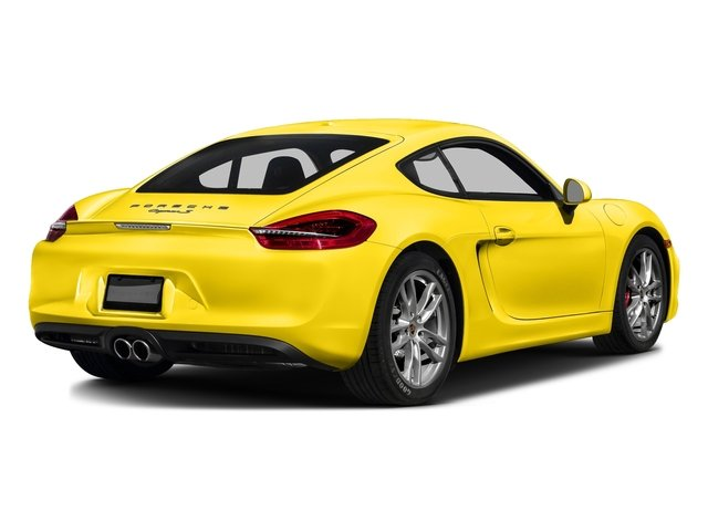 Racing Yellow 2016 Porsche Cayman Pictures Cayman Coupe 2D S H6 photos rear view