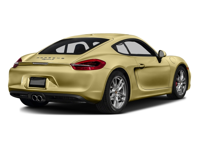 Lime Gold Metallic 2016 Porsche Cayman Pictures Cayman Coupe 2D S H6 photos rear view