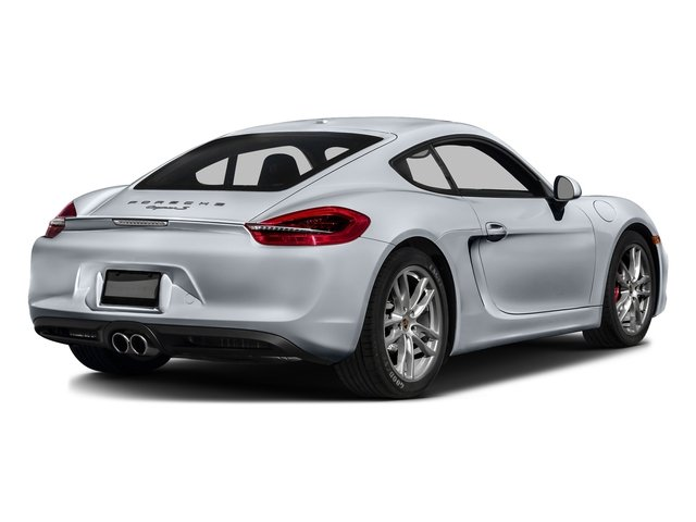 Rhodium Silver Metallic 2016 Porsche Cayman Pictures Cayman Coupe 2D S H6 photos rear view