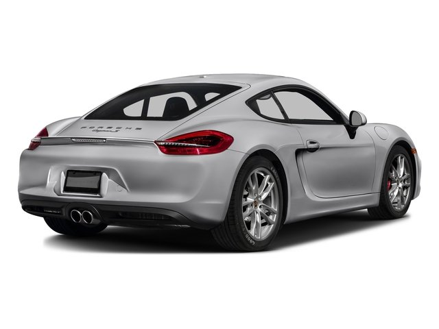 GT Silver Metallic 2016 Porsche Cayman Pictures Cayman Coupe 2D S H6 photos rear view