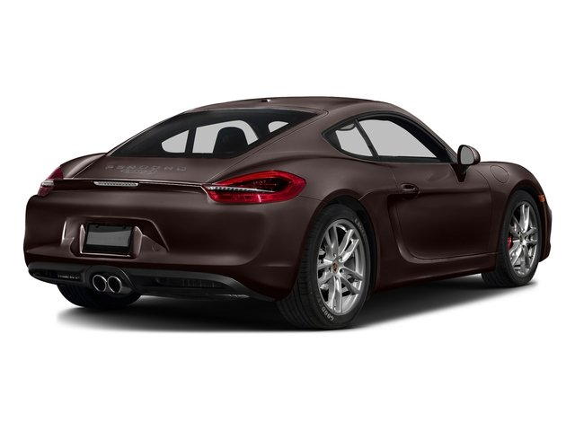 Mahogany Metallic 2016 Porsche Cayman Pictures Cayman Coupe 2D S H6 photos rear view