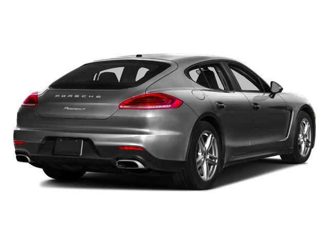 Carbon Gray Metallic 2016 Porsche Panamera Pictures Panamera Hatchback 4D S Exec AWD V8 Turbo photos rear view