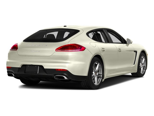 Carrara White Metallic 2016 Porsche Panamera Pictures Panamera Hatchback 4D S Exec AWD V8 Turbo photos rear view