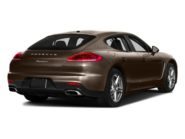 Chestnut Brown Metallic 2016 Porsche Panamera Pictures Panamera Hatchback 4D GTS AWD V8 photos rear view