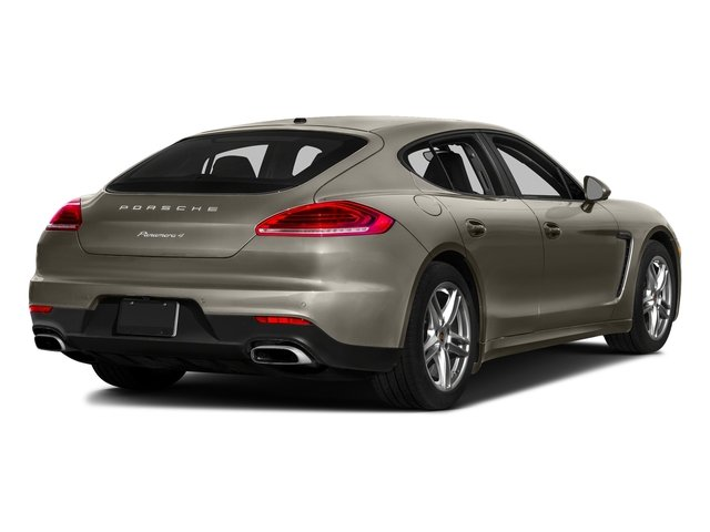 Palladium Metallic 2016 Porsche Panamera Pictures Panamera Hatchback 4D Exclusive AWD V8 Turbo photos rear view