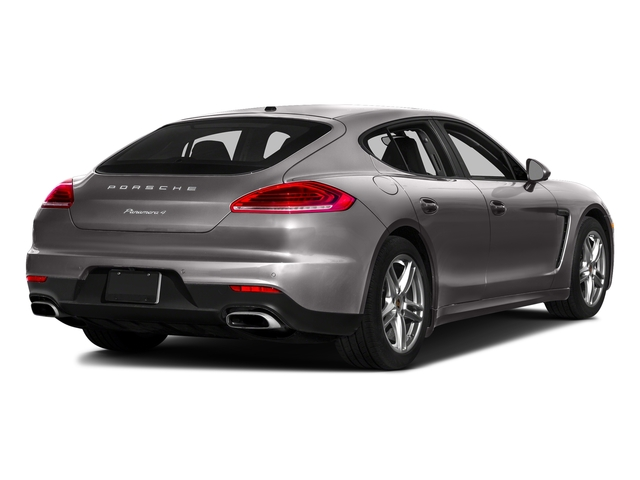 Agate Gray Metallic 2016 Porsche Panamera Pictures Panamera Hatchback 4D 4 AWD H6 photos rear view