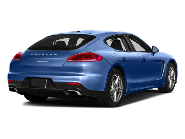 Sapphire Blue Metallic 2016 Porsche Panamera Pictures Panamera Hatchback 4D 4 AWD H6 photos rear view