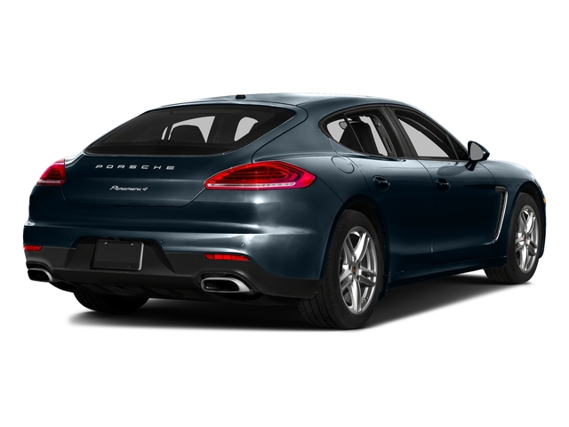 Night Blue Metallic 2016 Porsche Panamera Pictures Panamera Hatchback 4D GTS AWD V8 photos rear view
