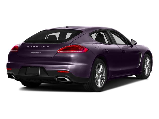 Amethyst Metallic 2016 Porsche Panamera Pictures Panamera Hatchback 4D S Exec AWD V8 Turbo photos rear view