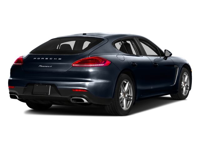 Yachting Blue Metallic 2016 Porsche Panamera Pictures Panamera Hatchback 4D Executive AWD V8 Turbo photos rear view