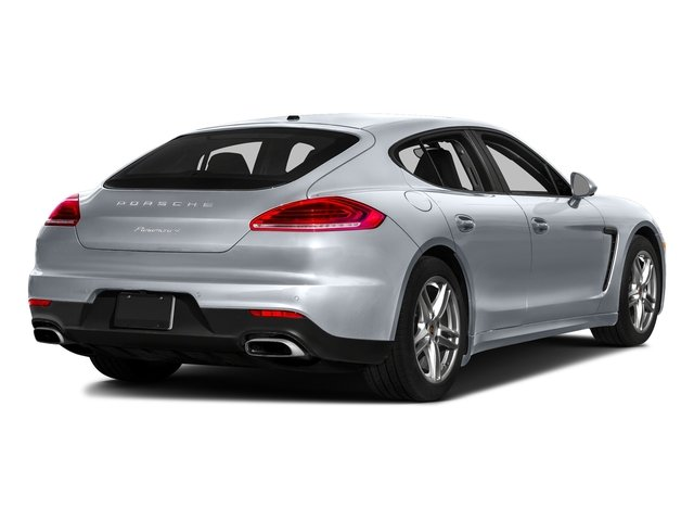 Rhodium Silver Metallic 2016 Porsche Panamera Pictures Panamera Hatchback 4D S Exec AWD V8 Turbo photos rear view