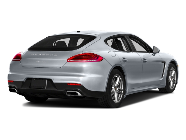 Rhodium Silver Metallic 2016 Porsche Panamera Pictures Panamera Hatchback 4D 4S Exec AWD V6 Turbo photos rear view