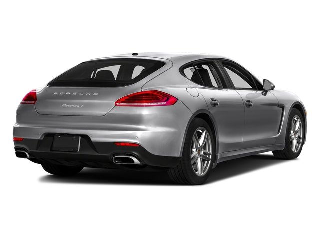 GT Silver Metallic 2016 Porsche Panamera Pictures Panamera Hatchback 4D 4S Exec AWD V6 Turbo photos rear view