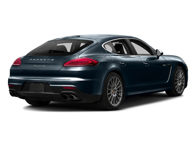 Night Blue Metallic 2016 Porsche Panamera Pictures Panamera Hatchback 4D S e-Hybrid V6 photos rear view