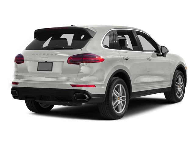White 2016 Porsche Cayenne Pictures Cayenne Utility 4D AWD V6 T-Diesel photos rear view