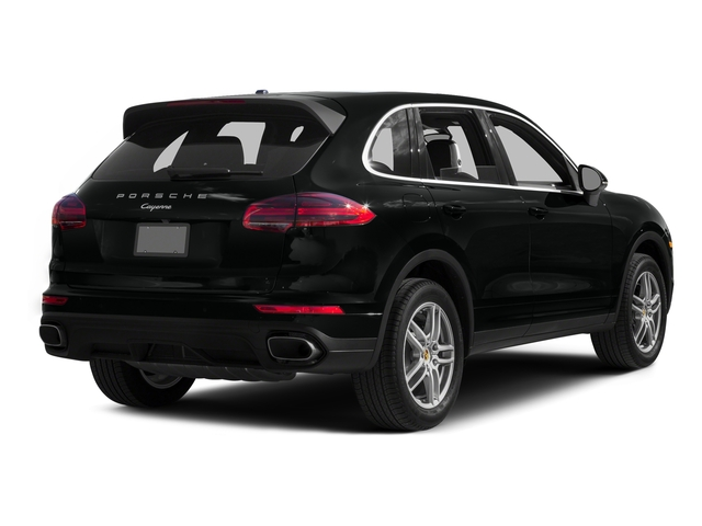 Jet Black Metallic 2016 Porsche Cayenne Pictures Cayenne Utility 4D AWD V6 T-Diesel photos rear view