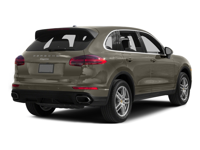 Palladium Metallic 2016 Porsche Cayenne Pictures Cayenne Utility 4D AWD V6 T-Diesel photos rear view