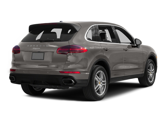Meteor Gray Metallic 2016 Porsche Cayenne Pictures Cayenne Utility 4D AWD V6 T-Diesel photos rear view