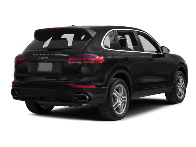 Black 2016 Porsche Cayenne Pictures Cayenne Utility 4D AWD V6 T-Diesel photos rear view