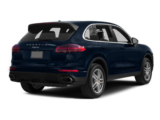 Moonlight Blue Metallic 2016 Porsche Cayenne Pictures Cayenne Utility 4D AWD V6 T-Diesel photos rear view