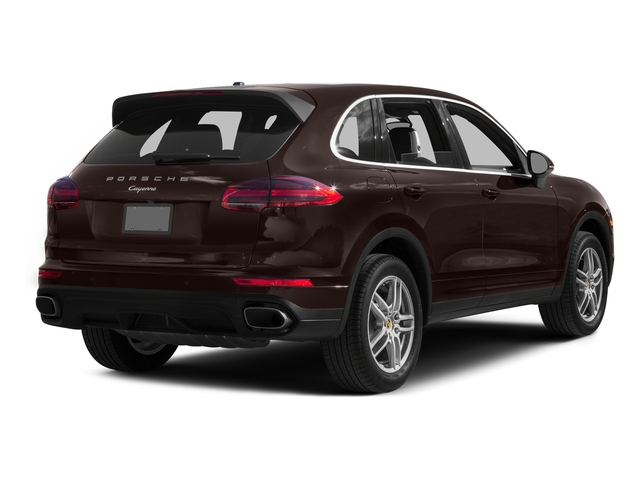 Mahogany Metallic 2016 Porsche Cayenne Pictures Cayenne Utility 4D AWD V6 T-Diesel photos rear view