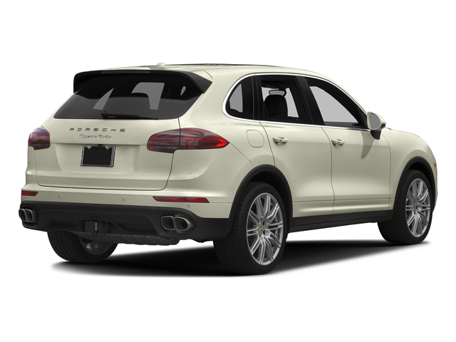 Carrara White Metallic 2016 Porsche Cayenne Pictures Cayenne Utility 4D S AWD V8 Turbo photos rear view