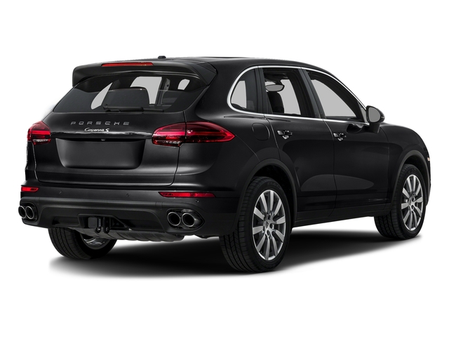 Black 2016 Porsche Cayenne Pictures Cayenne Utility 4D S AWD V6 Turbo photos rear view