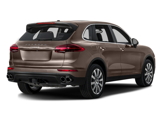 Umber Metallic 2016 Porsche Cayenne Pictures Cayenne Utility 4D S AWD V6 Turbo photos rear view