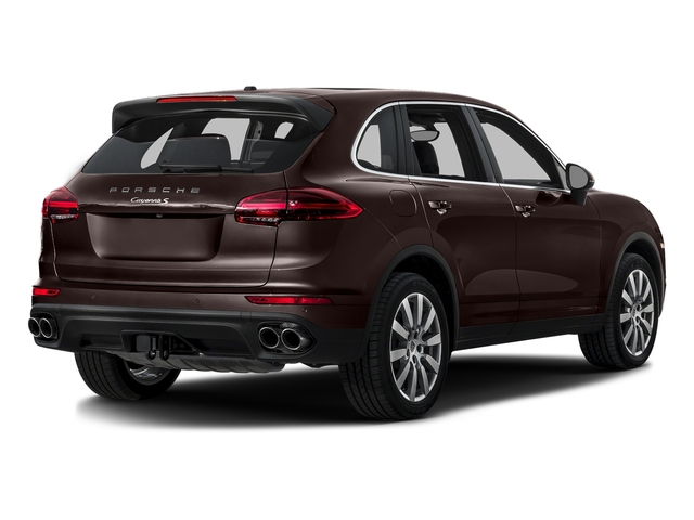 Mahogany Metallic 2016 Porsche Cayenne Pictures Cayenne Utility 4D S AWD V6 Turbo photos rear view