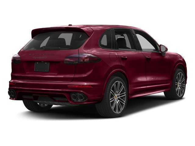 Carmine Red 2016 Porsche Cayenne Pictures Cayenne Utility 4D GTS AWD V6 Turbo photos rear view