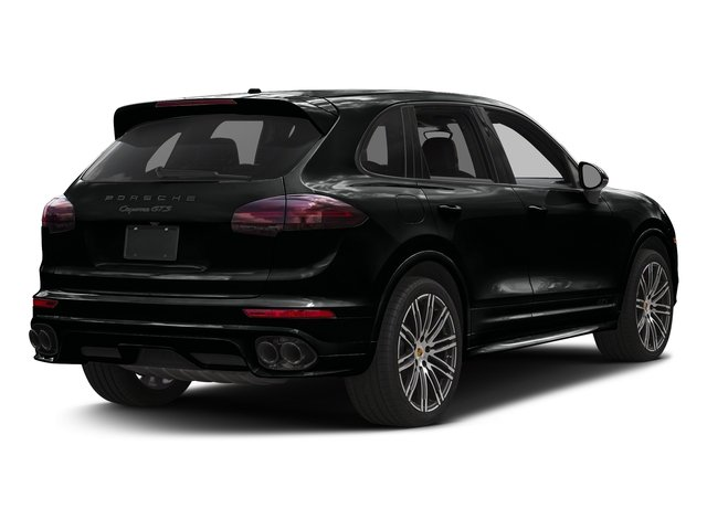 Jet Black Metallic 2016 Porsche Cayenne Pictures Cayenne Utility 4D GTS AWD V6 Turbo photos rear view