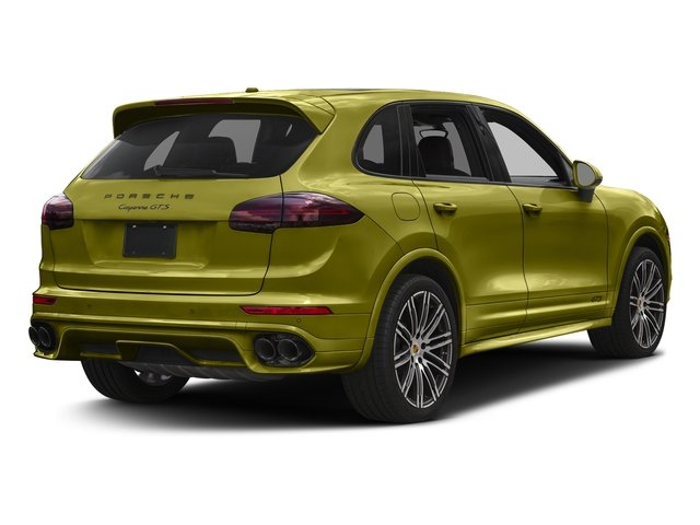 Peridot Metallic 2016 Porsche Cayenne Pictures Cayenne Utility 4D GTS AWD V6 Turbo photos rear view
