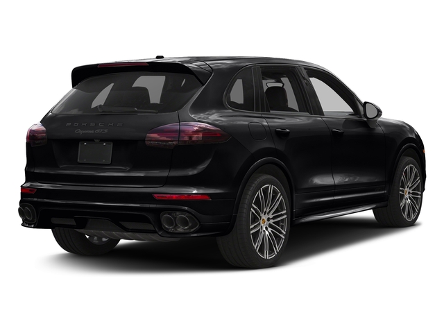 Black 2016 Porsche Cayenne Pictures Cayenne Utility 4D GTS AWD V6 Turbo photos rear view