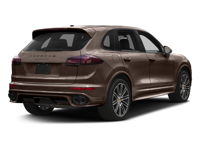 Umber Metallic 2016 Porsche Cayenne Pictures Cayenne Utility 4D GTS AWD V6 Turbo photos rear view