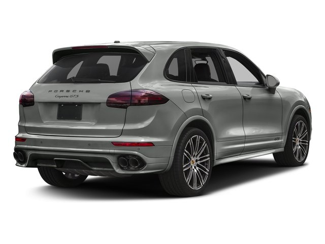 Rhodium Silver Metallic 2016 Porsche Cayenne Pictures Cayenne Utility 4D GTS AWD V6 Turbo photos rear view