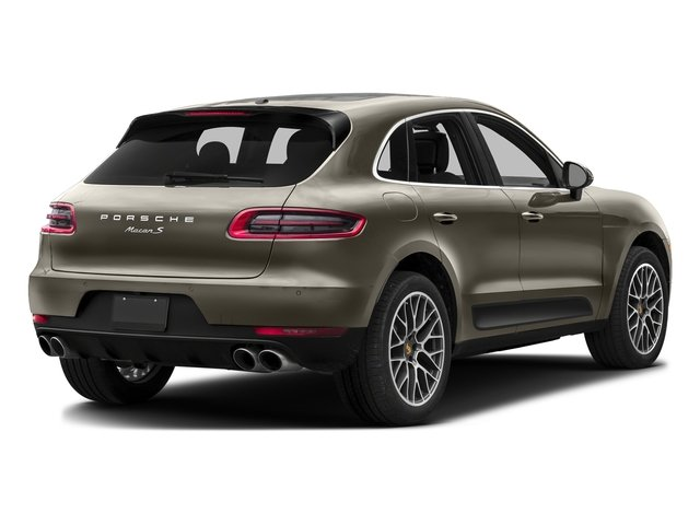 Palladium Metallic 2016 Porsche Macan Pictures Macan Utility 4D AWD V6 Turbo photos rear view