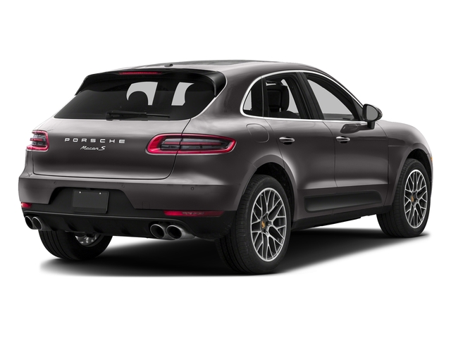 Agate Gray Metallic 2016 Porsche Macan Pictures Macan Utility 4D AWD V6 Turbo photos rear view