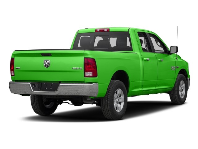 Hills Green 2016 Ram Truck 1500 Pictures 1500 Quad Cab SLT 4WD photos rear view