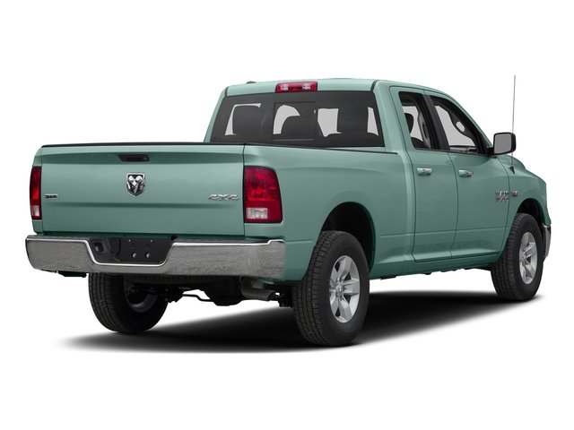 Light Green 2016 Ram Truck 1500 Pictures 1500 Quad Cab SLT 4WD photos rear view