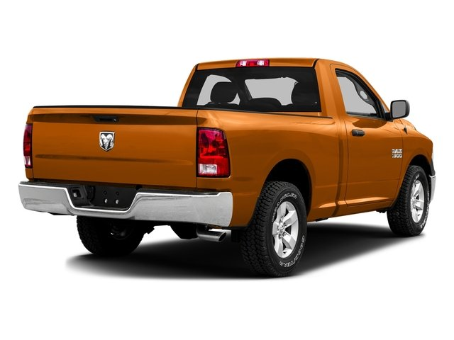 Omaha Orange 2016 Ram Truck 1500 Pictures 1500 Regular Cab SLT 2WD photos rear view