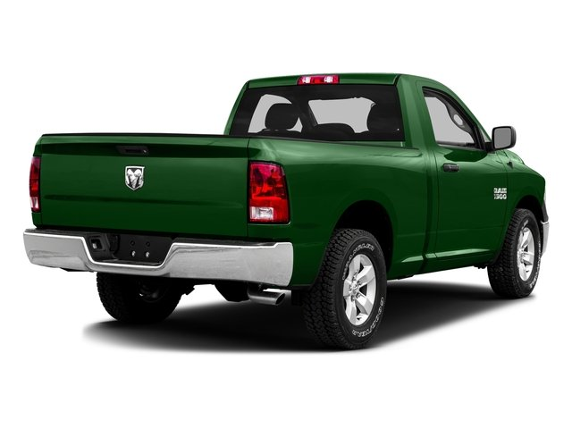 Tree Green 2016 Ram Truck 1500 Pictures 1500 Regular Cab SLT 4WD photos rear view