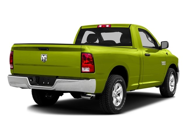 National Safety Yellow 2016 Ram Truck 1500 Pictures 1500 Regular Cab SLT 2WD photos rear view