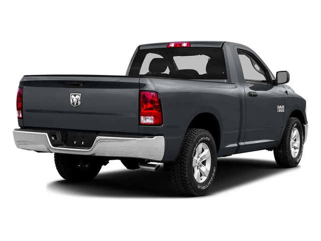 Maximum Steel Metallic Clearcoat 2016 Ram Truck 1500 Pictures 1500 Regular Cab SLT 4WD photos rear view