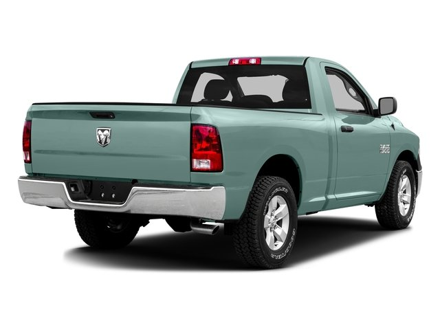 Light Green 2016 Ram Truck 1500 Pictures 1500 Regular Cab SLT 2WD photos rear view