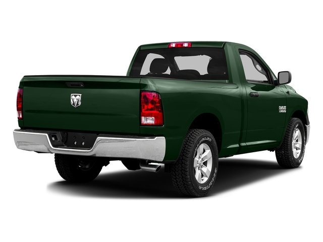 Timberline Green Pearlcoat 2016 Ram Truck 1500 Pictures 1500 Regular Cab SLT 2WD photos rear view