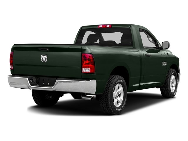 Black Forest Green Pearlcoat 2016 Ram Truck 1500 Pictures 1500 Regular Cab SLT 2WD photos rear view
