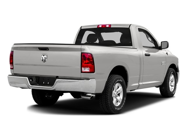 Bright Silver Metallic Clearcoat 2016 Ram Truck 1500 Pictures 1500 Regular Cab SLT 4WD photos rear view