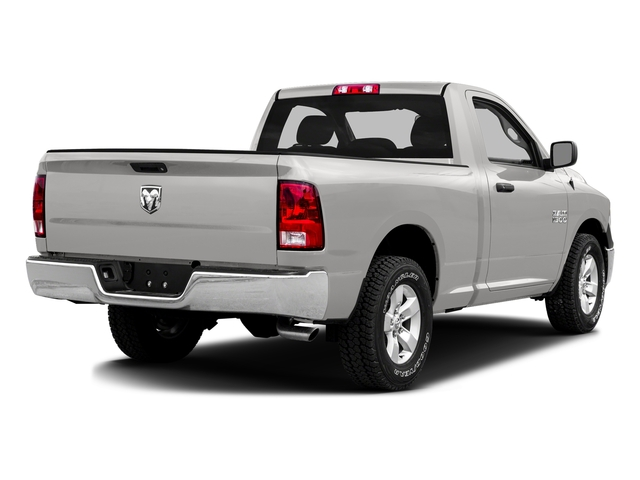 Bright Silver Metallic Clearcoat 2016 Ram Truck 1500 Pictures 1500 Regular Cab SLT 2WD photos rear view