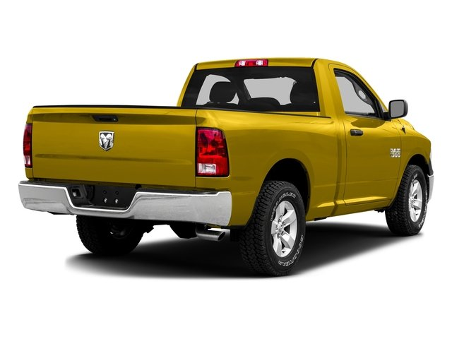 Detonator Yellow Clearcoat 2016 Ram Truck 1500 Pictures 1500 Regular Cab SLT 4WD photos rear view