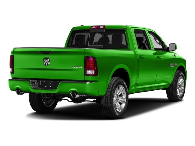 Hills Green 2016 Ram Truck 1500 Pictures 1500 Crew Cab Outdoorsman 4WD photos rear view